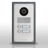 Door intercom devices with IP camera